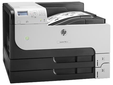 in laser a3 hp laserjet enterprise m712n network eprint hp14a