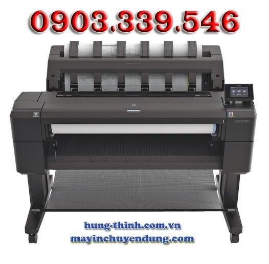 in phun mau a0 hp designjet t930 36 inch ps printer network l2y22a hp727